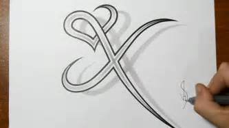 x tattoo ideas drawing letter x combined with a design drawing