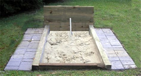 how to build a horseshoe pit in your backyard dyi backyard fun with horseshoes images frompo
