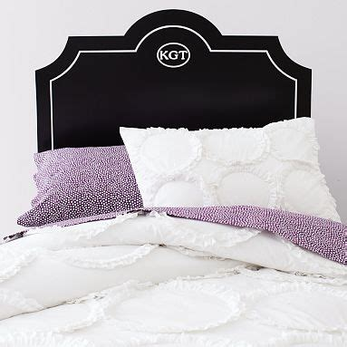 25 best ideas about monogram headboard on