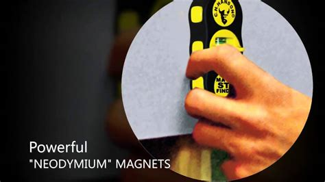 ch hanson 03040 stud 4 sure magnetic stud finder overview
