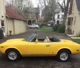 1979 Fiat Spider 2000 Value 1979 Fiat Spider 124 2000 Automatic Transmission