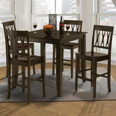 collection in tall dining table set with room best regarding stylish new classic style 19 small counter height table and abbie