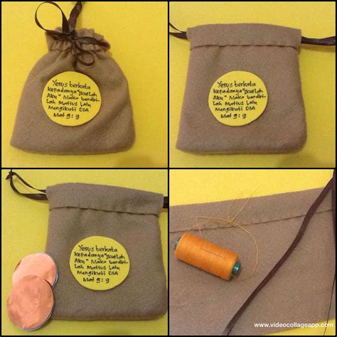 kantong uang quot money s sack quot craft idea made from flanel jesus calling