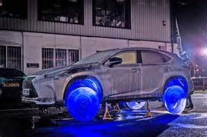 Car With Tires Made Of This Car S Tires Are Made Entirely Out Of Frozen Water