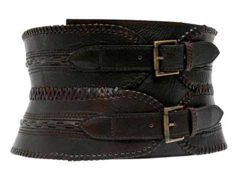 present of the day antik batik leather buckle