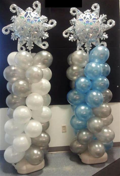 snowflake themed decorations best 25 frozen balloon decorations ideas on