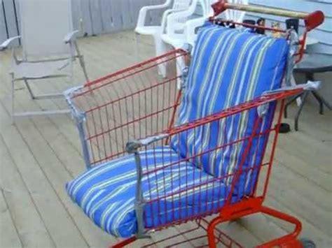 Shopping Chair by Shopping Cart Lawn Chair