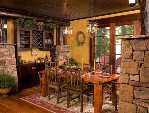 Pillars Decoration In Homes by The Homespun Charm Of Your Childhood Cabin Can Translate