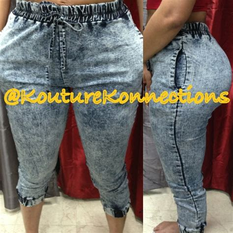 where does kouture konnections get their product acid wash jean joggers kouture konnections