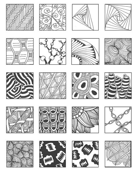 zentangle patterns for beginners sheets bing images 1000 images about zentangle on pinterest journal pages