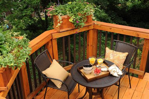 toned deck railing  decked  pinterest