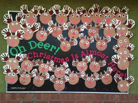 oh deer classroom decoration craft kindergarten activities for december