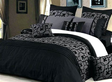 Set Grey Black black and gray quilts co nnect me