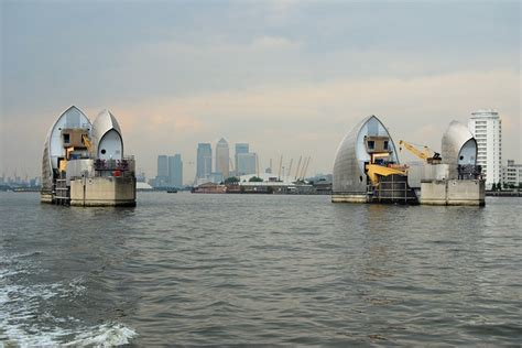 thames barrier video youtube flood barrier
