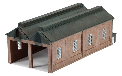 hornby skaledale r9822 1 76 oo scale steam locomotive shed