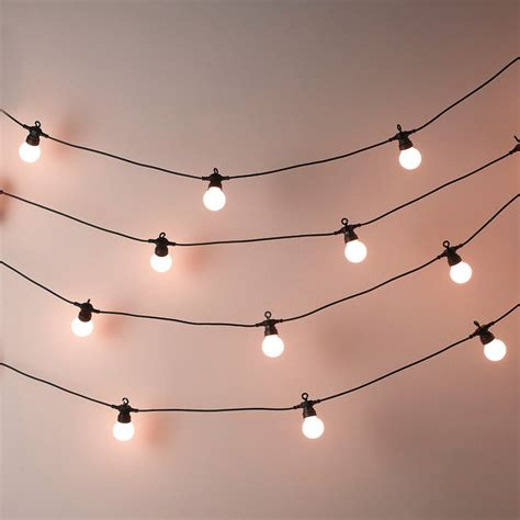 bistro lights wholesale bistro bulb lights 20 bulbs contemporary