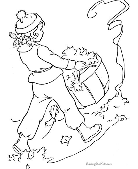 coloring pages of raking leaves leave coloring pages az coloring pages