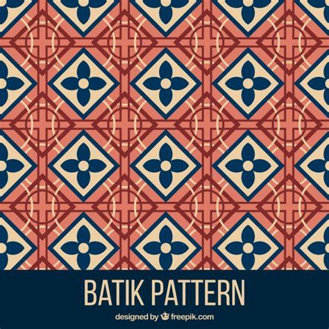 batik pattern illustrator free geometric pattern in batik style vector free download
