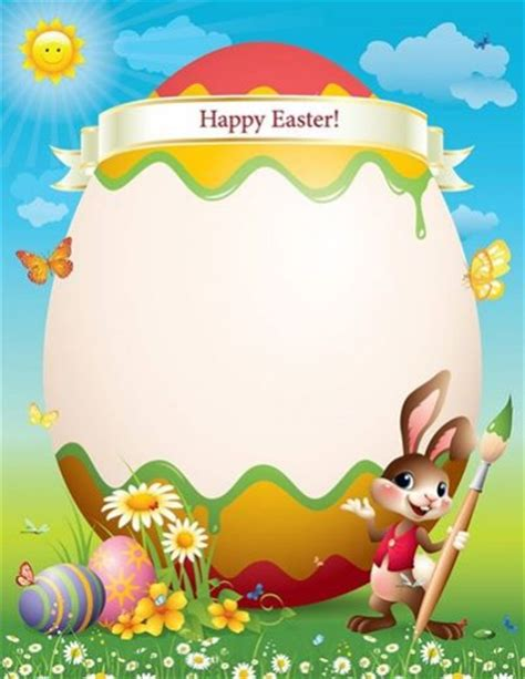 printable easter letters letter from the easter bunny my storybook adventure