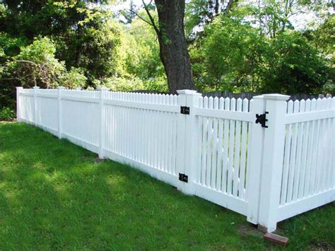 types of privacy fences for backyard fence fencing manor vinyl yard fences