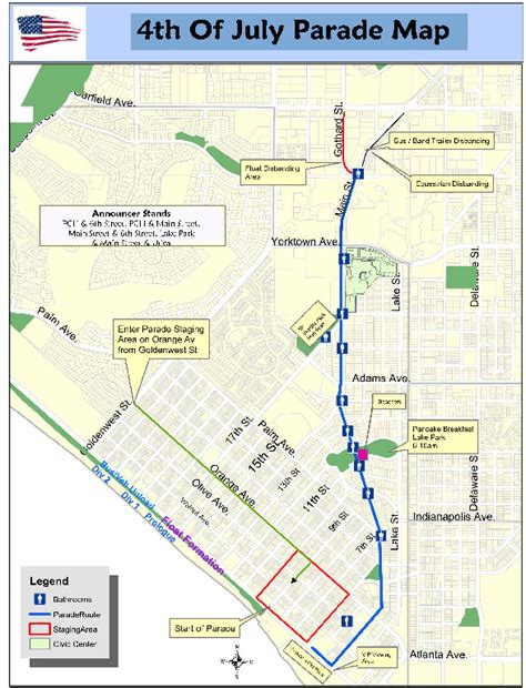 Pch Closure Map - maps huntington beach fourth of july parade road closures and parking main pch