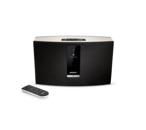 multi room wireless speakers bose soundtouch 20 wireless multi room speaker black white deals pc world