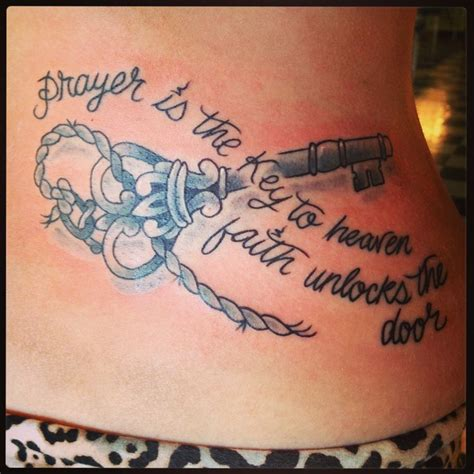tattoo key quotes faith tattoo prayer skeleton key quotes for tattoo