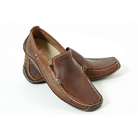 shoes loafer camel active brasilia mens slip on casual loafer shoe