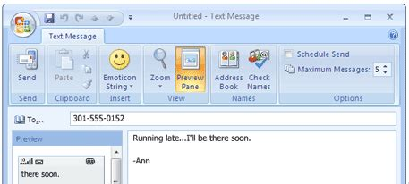 sms via to mobile how to send sms text messages from computer to mobile