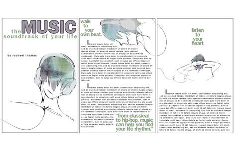 magazine layout design in illustrator magazine layout illustration by digitalfragrance on