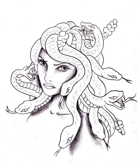 sicilian medusa tattoo design photo 2 real photo
