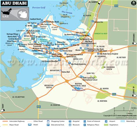 printable abu dhabi road map abu dhabi map maps globes pinterest abu dhabi