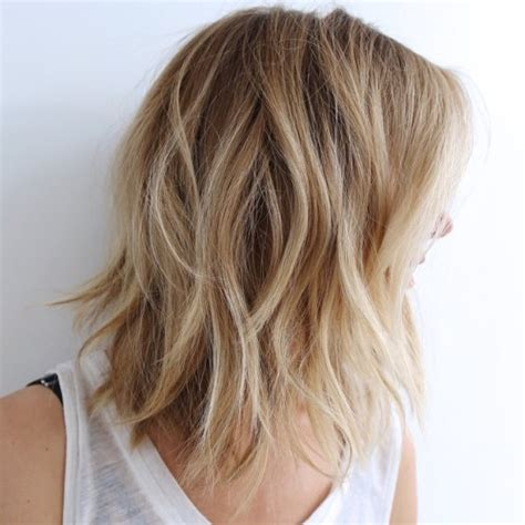 blonde mid lenth layers 70 brightest medium length layered haircuts and hairstyles
