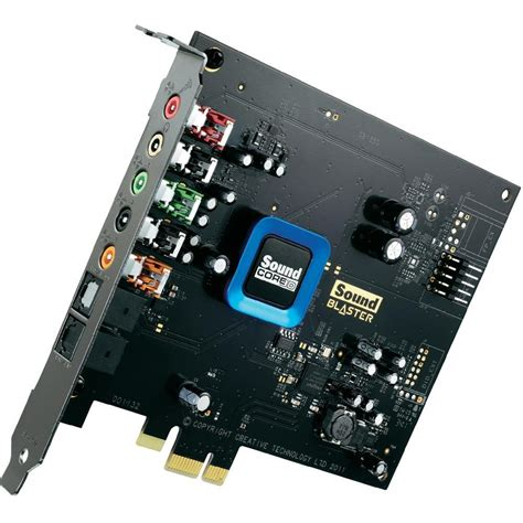 scheda audio interna creative sound blaster recon3d sbx scheda audio interna in