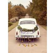 Just Married Car On Pinterest  Wedding Decorations