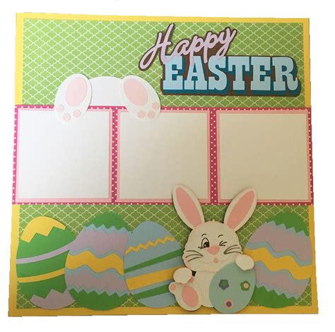 easter paper craft projects scrapbook layouts cards