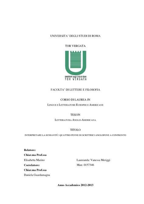 università tor vergata lettere e filosofia universita degli studi di roma tor vergata facolta di