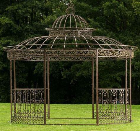 romantik pavillon metall gold sonnenschutz und weitere gartenm 246 bel g 252 nstig
