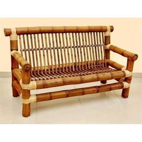 bamboo settee bamboo sofa cane furniture sofaset rattan and bamboo thesofa