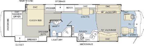 monaco rv floor plans 2007 monaco dynasty 43 palace iii floorplan