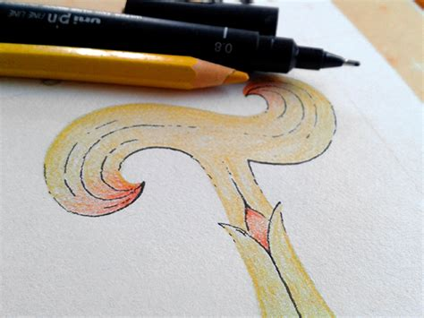daily doodle instagram instagram daily doodles fancy feb letters on behance
