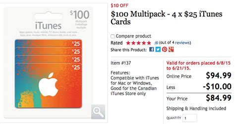 Purchase Icloud Storage With Itunes Gift Card - 100 itunes card multipacks on sale for 20 off at 79 99 from costco iphone in