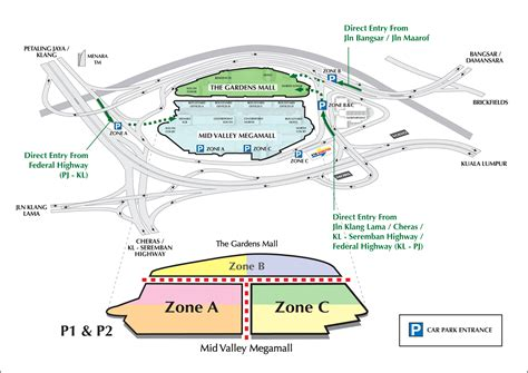 Klcc Floor Plan by Mid Valley Megamall