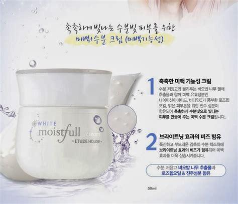 Pelembab Etude House chibi s etude house korea moistfull white rangkaian