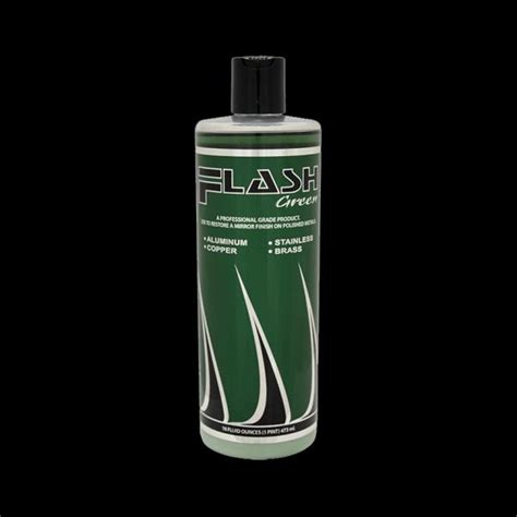 Flashin Soap flash green liquid metal 16oz truck soap
