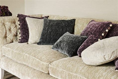 Velvet Upholstery Fabric Australia by Icaria Fabric Collection Source Sanderson Fabric