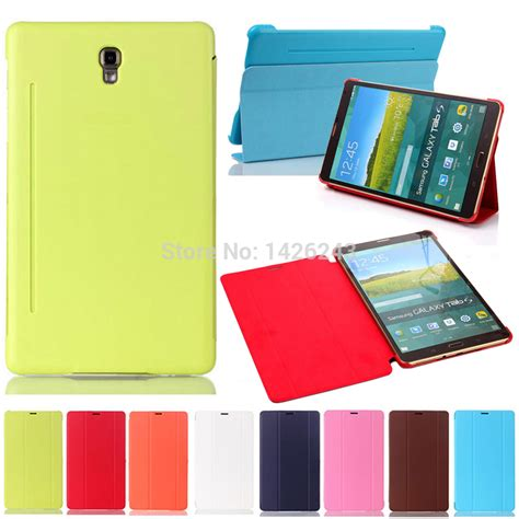 Samsung Tab S 8 4 Inch T700 Softcase Ultra Thin Tpu Silicon slim tablet book cover for samsung galaxy tab s 8 4 inch sm t700 t705 rigid in covers