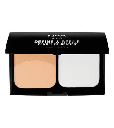 Nyx Define Refine Powder Foundation comprar nyx professional makeup polvos compactos define