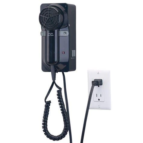 Hair Dryer Brago 1600watt proversa 1600 watt hair dryer in black jwm6cb the home depot