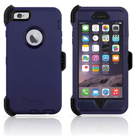 otterbox defender iphone 6 plus 6s plus 5 5 quot holster admiral blue oem new ebay